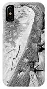 Driftwood 4 Bw IPhone Case