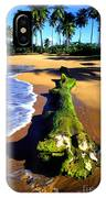 Driftwood And Palms IPhone Case
