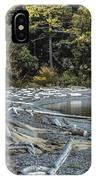 Driftwood On The Beach Sucia Island IPhone Case