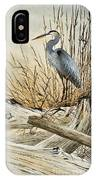 Driftwood Splendor IPhone Case