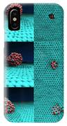 Drilling Of Graphene Nanoparticles IPhone Case