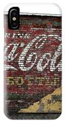 Drink Coca Cola In Bottles 2 IPhone Case