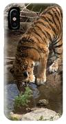 Drinking Tiger IPhone Case