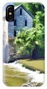 Drinkwater And Schriver Mill Cedar Point Kansas  IPhone Case