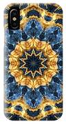 Dripping Gold Kaleidoscope IPhone Case