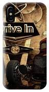 Drive In IPhone Case