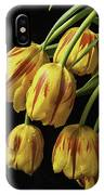 Drooping Tulips IPhone Case