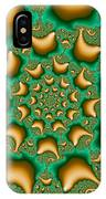 Drops Of Gold IPhone Case