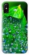Drops On Leaf IPhone Case