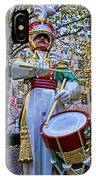 Drummer Boy  In Rockefeller Center IPhone Case