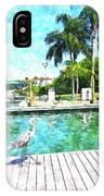 Dry Dock Bird Walk IPhone Case