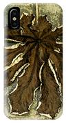Dry Leaf Collection Natural IPhone Case