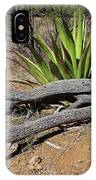 Agave And Log IPhone Case