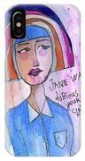 Dubious Jane IPhone Case