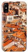 Dubrovnik Orange Old Town Rooftops IPhone Case