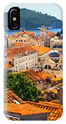Dubrovnik Rooftops IPhone Case