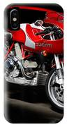 Ducati Mhe And Ferrari IPhone Case