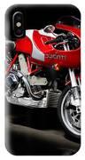 Ducati Mhe Mike Hailwood Evoluzione IPhone Case