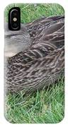 Duck 2 IPhone Case
