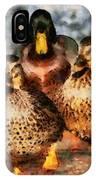Duck - Id 16235-220308-3425 IPhone Case