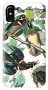 Lummer Or Wood Duck IPhone X Case