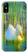 Duck On A Mission IPhone Case