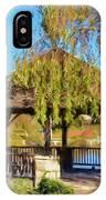 Duck Pond Gazebo At Virginia Tech IPhone Case