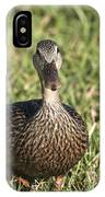 Duck Stare IPhone Case