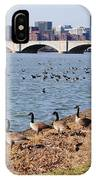 Ducks Of The Potomac IPhone Case