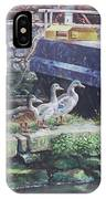 Ducks On Dockside IPhone Case