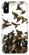 Ducks On The Move IPhone Case