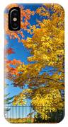 Dueling Maples IPhone Case