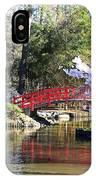 Duke Garden Spring Bridge IPhone Case