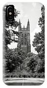 Duke University Chapel IPhone Case