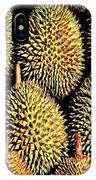 Durian IPhone Case