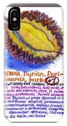 Durian IPhone Case