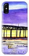 Dusk Pier IPhone Case