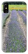 Dutch Lavender Field IPhone Case