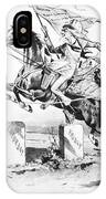 Dynamic America, 1889 IPhone Case