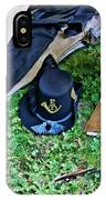E Company Black Hat IPhone Case