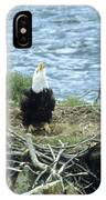 Eagle Calls In Its Mate IPhone Case