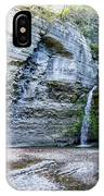 Eagle Cliff Falls Panorama IPhone Case by William Norton