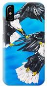 Eagle Fight IPhone Case