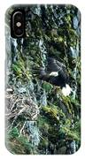 Eagle Landing On Nest IPhone Case