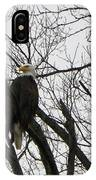 Eagle On Old Dump Road IPhone Case