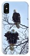 Eagle Pair IPhone Case