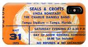 Eagles Tampa Stadium 1975 IPhone Case