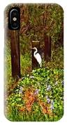 Egret And Heron IPhone Case