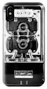 Early 1900s Type Cs Watthour Meter In Black And White IPhone Case