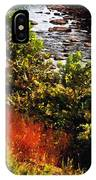 Early Autumn Along The Naugatuck IPhone Case